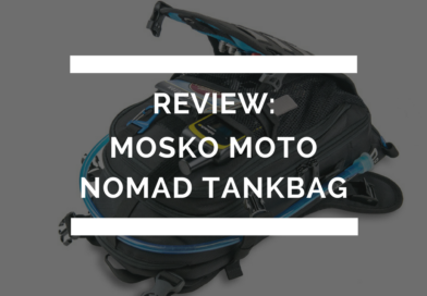 Mosko Moto Nomad Tank Bag Review