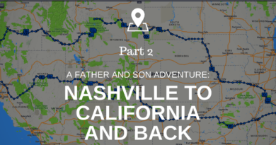 Nashville to California and Back. A Father and Son Cross Country Motorcycle Adventure. Part 2.
