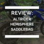 Altrider Hemisphere Saddlebag Review